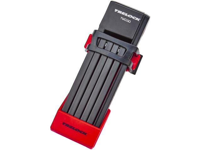 Trelock FS 200/75 TWO.GO - Candado bicicleta - 75 cm rojo